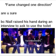 And then Louis pushed him on the bladder.
