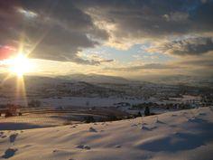 A Gorgeous Winter Morning in the Okanagan <3