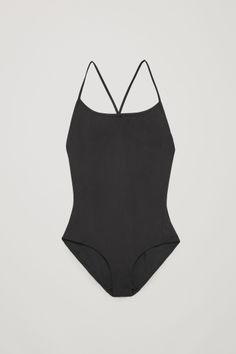 COS Cross-over swimsuit in Black