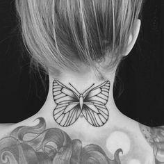 Nos idées de tatouages pour sublimer une nuque #tatouage #tattoo #tendance #beauté #aufeminin