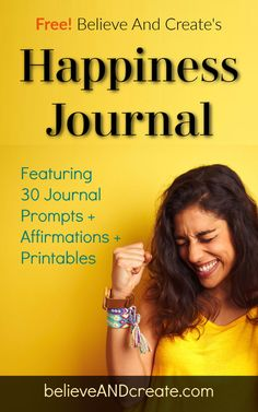 Grab our free Happiness Journal and start experiencing more joy in your life today! How To Become Happy, Tips To Be Happy, Are You Happy, Happiness Comes From Within, Finding Happiness, Self Development, Personal Development, Ways To Be Happier, Train Your Mind