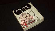 Vintage Novelty Gift - For Men - Midnight Snack - Slightly Risque - Funny!
