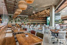 Doppio Zero restaurant design by Design Partnership. Restaurant Design, Restaurant Bar, Environmental Design, Interior Photography, Hospitality Design, Design Agency, Contemporary Design, South Africa, Architecture Design