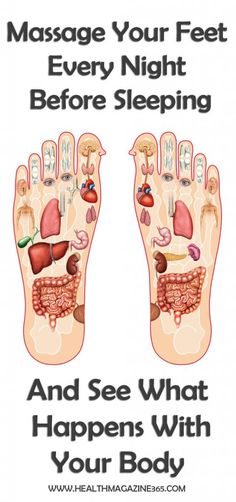 Massage Your Feet Every Night Before Sleeping And See What Happens With Your Body..