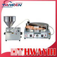 HY-909 Desktop Automatic Pan Cake Baking Machine Beat dorayaki machine in Asia