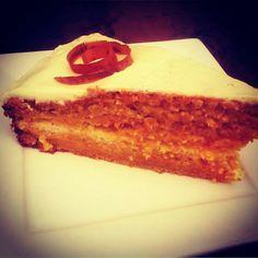 Deliciosa tarta de zanahoria en la bien pagá Móstoles especialistas en cocina tradicional casera