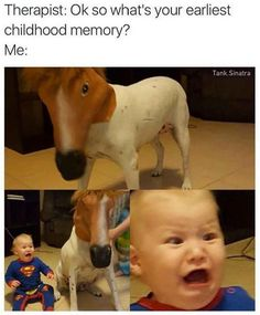What's your earliest memory