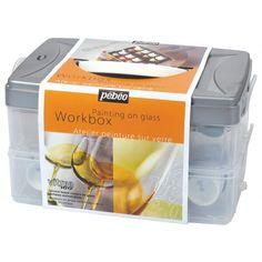 Coffret équipement Pébéo Deco verre - 10x45ml - Pébéo