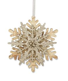 Layered Paper Snowflake Ornament from The Holiday Barn