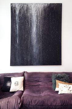 Purple Togo Sofa