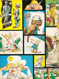 Cracked magazine mascot Sylvester P. Smythe. | 9-86