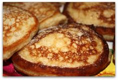 Jamaican Banana Fritters! -Be careful cooking them because they cook very fast, I would cook them on medium-low and flip them 3 times :) ENJOY (Oh and it tastes just as good without nutmeg)