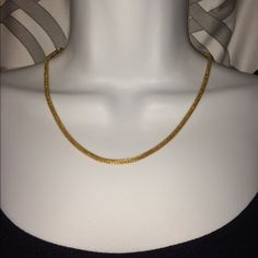 Brand new Gorgeous gold rounded link necklace Brand new necklace that is Not real gold but it could be! So soft to the touch. Great with layering or by itself. Jewelry Necklaces