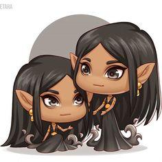eresteblr: Nuala and Cerridwen