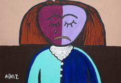 Mujer Triste - Sad Woman