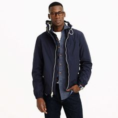 X150 Cotton-Nylon Hooded Jacket