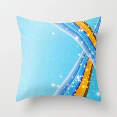 #Society6 Colors Throw Pillow. Worldwide shipping available at Society6.com. Just one of millions of products available.