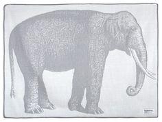 'Elephant Baby Alpaca Throw by Thomaspaul. @2Modern'
