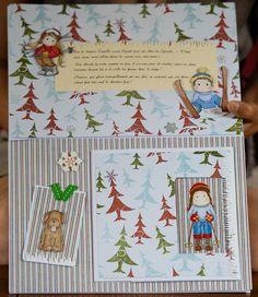 Children book with Magnolia's caracters