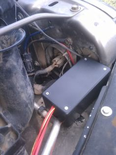 Bussman Fuse/Relay Box (from WagonGear) & install in the