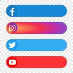 Facebook And Instagram Logo, Logo Instagram, Logo Facebook, Image Facebook, Instagram White, First Youtube Video Ideas, Intro Youtube, Youtube Channel Art, Youtube Hacks