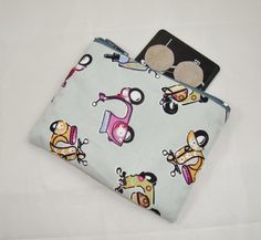 Scooter Fabric Coin Purse - Free P&P £5.00