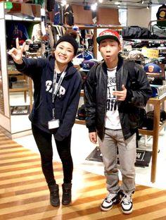 【大阪店】 2013年2月3日  ダンサーのMocchiさん!    とてもオシャレさんでおもわずどこのジャケットか聞いてしまいました...(笑)    お目当てのネッツのキャップが見つかって良かったです(^^)