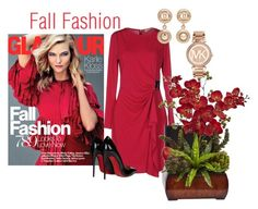 """""""Fall Fashion ... Karlie Kloss"""" by jbeb ❤ liked on Polyvore featuring MICHAEL Michael Kors, Christian Louboutin, Chanel, Nearly Natural and Michael Kors"""