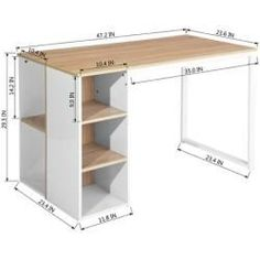 Woodworking Shows Key: 2549288736 Office Furniture, Diy Furniture, Furniture Design, Small Space Interior Design, Home Office Design, Space Interiors, Office Interiors, Woodworking Desk Plans, Woodworking Store