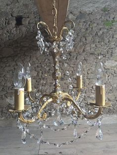 A personal favorite from my Etsy shop https://www.etsy.com/listing/225817968/french-vintage-bronze-and-crystal