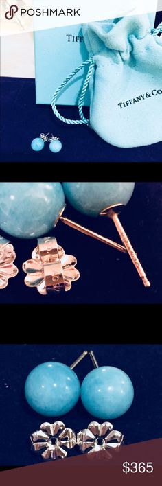 4ef2dce05aa4 I just added this listing on Poshmark  Tiffany  amp  Co. Authentic  Amazonite 8mm