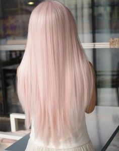 Pink Pastel Scene Dyed Hairstyle