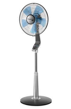 Stand Fan, Silence, Pedestal Fan, Telescopic Pole, Electric Fan, Color Negra, Save Energy, Black, Colors