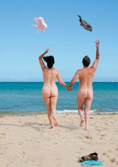 Something is. nude beach with parents