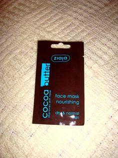 Ziaja Cocoa Butter hydratačná a vyživujúca maska | Dulce Nika World