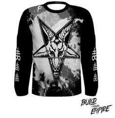 Question Everything Baphomet Long Sleeve Shirt