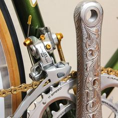 Campagnolo hand made finishing #components #campagnolo #bicycle #velo