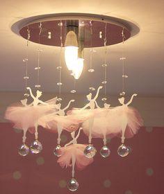 lustre infantil bailarinas 3 / infantil/ quarto bebê/ menina