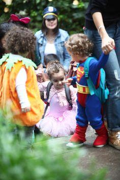 Little ballerina at the ECC Halloween event