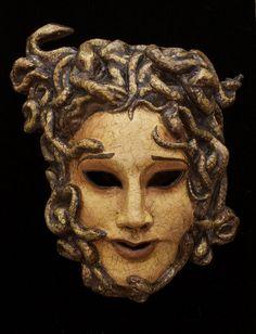 Medusa mask for masquerade