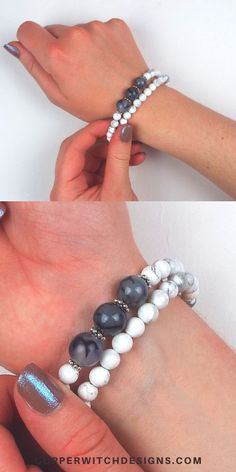 Make your own beaded bracelet with this DIY Bracelet Kit Diy Bracelets Kit, Personalized Bracelets, Bracelet Crafts, Unique Bracelets, Memory Wire Bracelets, Handmade Bracelets, Beaded Bracelets, Jewelry Kits, Jewelry Supplies