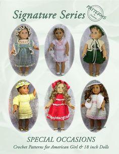 American Doll Crochet Patterns Free | CROCHET PATTERNS FOR 18 INCH DOLLS - Crochet Club