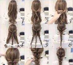 [Tutorial] peinado todos los días un día Mimi da trenzado ୧ (1 • ⌄ • 1) 7 Placa trenza Heidi hecha de pequeñas fresca Sen hembra línea de corte de pelo