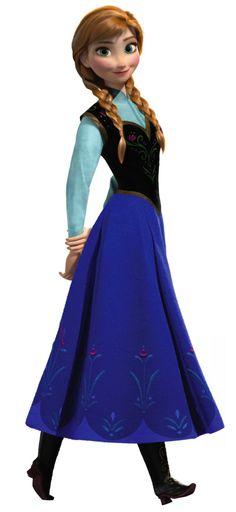 Anna in Frozen #lover #archetype #brandpersonality