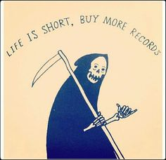 Life is short, buy more records #Music #Records