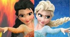The original Elsa has snow and ice powers; but what power would you have if you were born as a different Elsa?