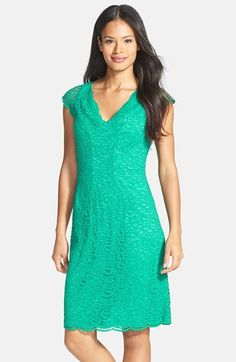 Donna+Ricco+Stretch+Lace+Dress+(Regular+&+Petite)+available+at+#Nordstrom