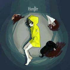Little Nightmares Fanart, Scary, Creepy, What To Draw, Beautiful Drawings, People Art, Anime Art Girl, Cool Art, Concept Art