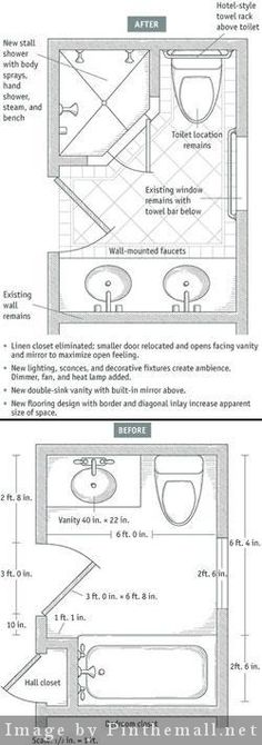 Bathroom Design 5 X 7 small bathroom layout 5 x 7 - bing images | bathrooms | pinterest