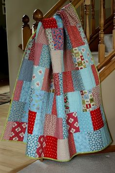 easy as pie quilt as done by crazy mom quilts